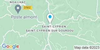 Plan Carte Notaire Pierre Choblet à Saint Cyprien sur Dourdou