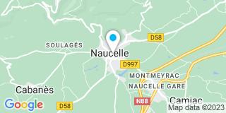 Plan Carte Notaire Benoît Lanchon à Naucelle
