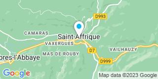 Plan Carte Notaire Anicet Dubrulle à Saint Affrique