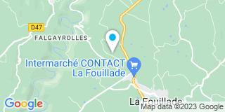 Plan Carte Notaire Sophie Gagnebet à La Fouillade