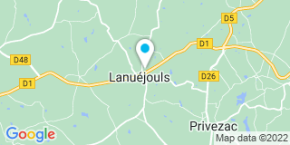 Plan Carte Notaire Catherine Segonds-Froment à Lanuejouls