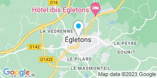 Plan Carte Couturon Elisabeth à Egletons