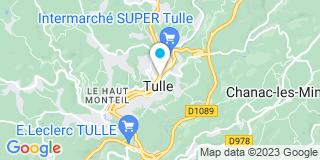 Plan Carte Keller François à Tulle