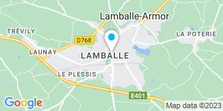 Plan Carte Olivier Gour à Lamballe