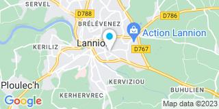 Plan Carte Philippe Rouxel à Ploumilliau