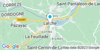 Plan Carte Edouard Montagut et Romain Moles à Larche
