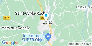 Plan Carte Michel Laporte à Objat