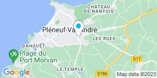 Plan Carte Vincent Dequaire et Bruno Leclerc à Pléneuf-Val-André