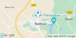 Plan Carte SCP Jean-Paul Souyris à Nailloux