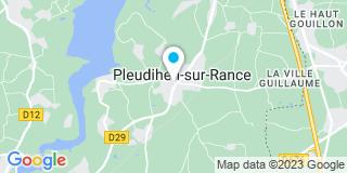 Plan Carte Verger-Hiard Olivier à Pleudihen-sur-Rance