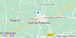 Plan Carte Delille Thierry à Dun-le-Palestel