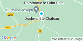 Plan Carte Notaire Peggy Keyser-François à Doulevant Château