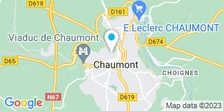 Plan Carte Notaire Jean Leopold à Chaumont