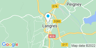 Plan Carte Les notaires Xavier Guichard et Sandrine Douche d'Auzers à Langres