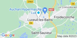 Plan Carte Notaire Jeanne George à Luxeuil les Bains
