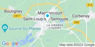 Plan Carte Notaire Patrice Humbert à Saint  Loup sur Semouse