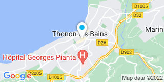 Plan Carte Notaire Hillard-Manzi Agnès à Thonon Les Bains