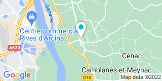 Plan Carte Chauvet Garenne Xavier à Latresne