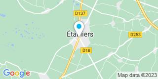 Plan Carte Delyfer Jérôme à Etauliers