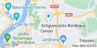 Plan Carte Duplantier André à Cenon