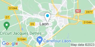 Plan Carte Bruno Dufourcq à Laon