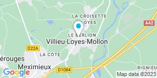 Plan Carte Vincent Rojon à Villieu-Loyes-Mollon