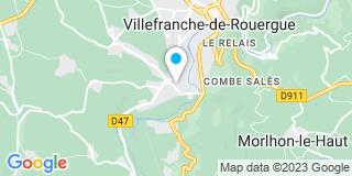 Plan Carte Alain Bastide d'Izard et Régis Merle à Mèze