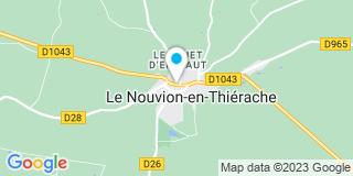 Plan Carte Laëtitia Armbrust à Le Nouvion en Thierache