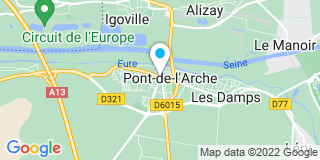 Plan Carte Laurent Prieur à Pont-de-l'Arche