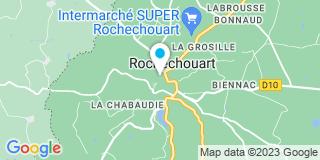 Plan Carte Notaire Vincent Couret à Rochechouart