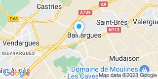 Plan Carte Dominique Grasset, Christophe Caulier, Sybille Grasset-Tendero et Marc Paradis à Baillargues