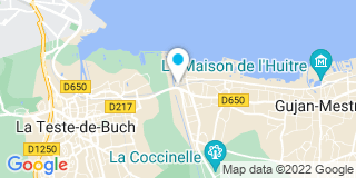 Plan Carte Loriod Guillaume à Gujan-Mestras