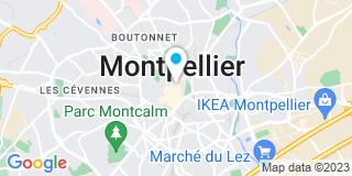 Plan Carte Jacques Salles, Caroline Soulas-Bertrand, Pamela Bertrand-Bertault et Stéphane Durand à Montpellier