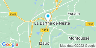 Plan Carte Les notaires Audrey Bardot-Ferrage et Virginie Rousseau à La Barthe de Neste