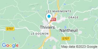 Plan Carte Arrieu Jean Luc à Thiviers
