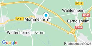 Plan Carte Jung Chauffage à Mommenheim