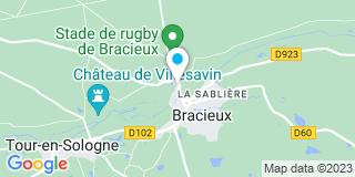 Plan Carte Notaire Jambon Carpentier Marie-Pierre à Bracieux