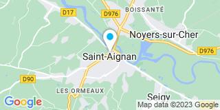 Plan Carte Notaire Sévérine Fève-Taphinaud à Saint-Aignan