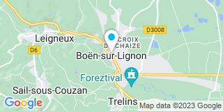 Plan Carte Notaire Jacques Baroux à Boen