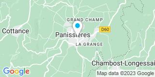Plan Carte Notaire Merlat Noëlle à Panissières