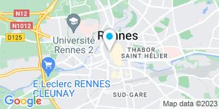 Plan Carte Darnon Jean-Michel à Rennes