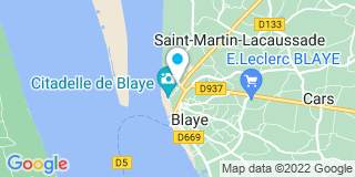 Plan Carte Pierre-Louis Massabie et Fabienne Masson à Blaye