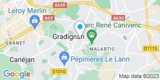 Plan Carte Stéphane Massie, Mathieu Massie et Loïc Delperier à Gradignan