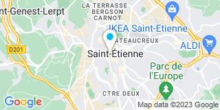 Plan Carte Les notaires Guy Denieuil, Hervé Denieuil, Guillaume Denieuil et Sébastien Denieuil à Saint Etienne