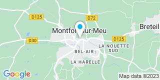 Plan Carte Pierre-Bourgeon Bernard à Montfort-sur-Meu