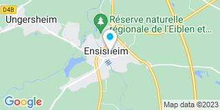 Plan Carte Isabelle Bastien-Boisumeau et Michèle Barth-Coustau à Ensisheim