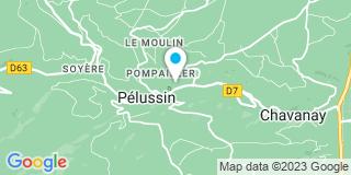 Plan Carte Notaire Pierre-Yves Soubeyran à Pelussin