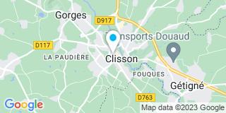 Plan Carte Les notaires Georges Teilliais, Christian Devos et Guillaume Rouillon à Clisson