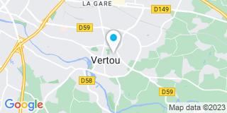 Plan Carte Les notaires Henri-Xavier Postec, Arnaud Audrain, Olivier Capelle et Marie Denis-Noujam à Vertou