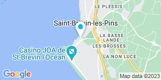 Plan Carte Les notaires Jérôme Liebault et Claire Templier-Liebault à Saint Brevin les Pins